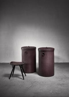 Nordiska Kompaniet Pair of Nordiska kompaniet laundry baskets - 1200383