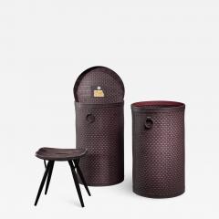 Nordiska Kompaniet Pair of Nordiska kompaniet laundry baskets - 1201532