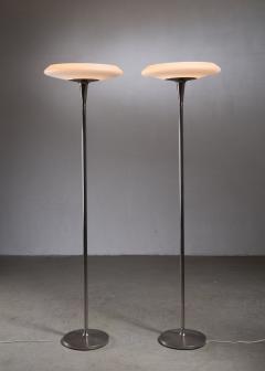 Nordiska Kompaniet Pair of tall Nordiska Kompaniet floor lamps - 2019572