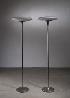Nordiska Kompaniet Pair of tall Nordiska Kompaniet floor lamps - 2019573