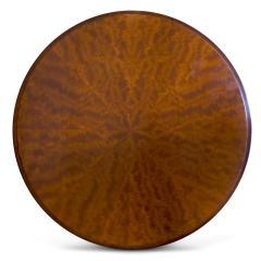 Nordiska Kompaniet Round Coffee Side Table with Articulated Edging in Birch by Nordiska Kompaniet - 475812
