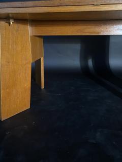 O H Sj grens M belfabrik A Danish Modern Birch Metamorphic Dining Table Mobelfabrik - 1369765