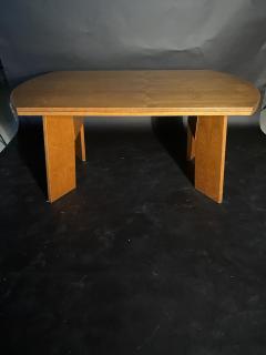 O H Sj grens M belfabrik A Danish Modern Birch Metamorphic Dining Table Mobelfabrik - 1369767