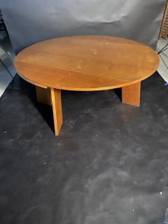 O H Sj grens M belfabrik A Danish Modern Birch Metamorphic Dining Table Mobelfabrik - 1369768
