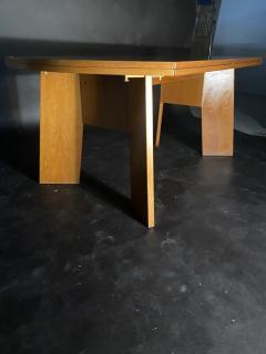 O H Sj grens M belfabrik A Danish Modern Birch Metamorphic Dining Table Mobelfabrik - 1369769