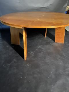 O H Sj grens M belfabrik A Danish Modern Birch Metamorphic Dining Table Mobelfabrik - 1369770