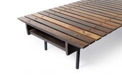 OCA MId Century Modern Slatted Bench by OCA Brazil 1950s - 2095362