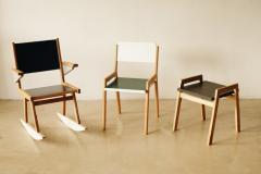 OWL Furniture Stool chair rocker - 1312622