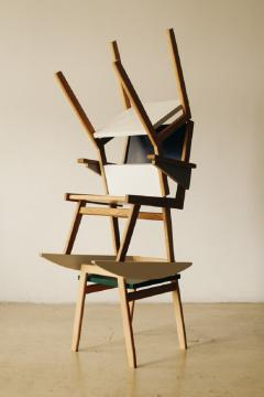 OWL Furniture Stool chair rocker - 1312630
