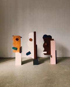 OWL Furniture face sculptures - 1312638
