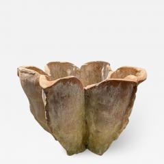 Oak Design Studios AGAVE Terracotta garden pots with natural patina - 2100959