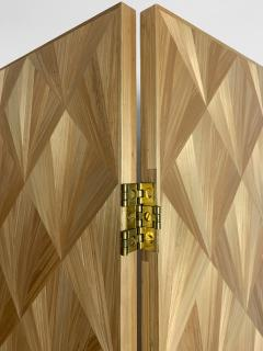 Oak Design Studios FRANKIE Straw Marquetry screens - 1156387