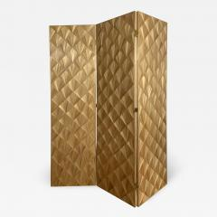 Oak Design Studios FRANKIE Straw Marquetry screens - 1156942