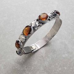 Oakes Studio Oakes Bracelet Sterling Silver Citrines - 1930254