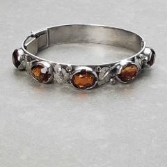 Oakes Studio Oakes Bracelet Sterling Silver Citrines - 1930255