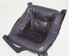 Odd Knutsen Luna Brown Leather Sling Chair with Ottoman Odd Knutsen - 1768684
