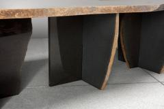 Okurayama Studio Exceptionnal Dat Kan Volcanic Stone Low Table Kaaron and Okurayama Studio - 1653906