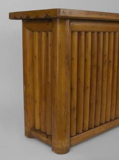 Old Hickory Furniture Co American Old Hickory style 1950s Pine Dry Bar - 648280