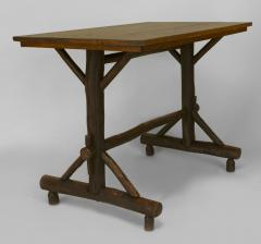 Old Hickory Furniture Co American Rustic Old Hickory Davenport Form Rectangular Table - 648207
