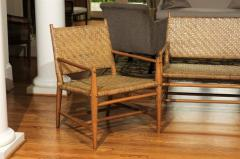 Old Hickory Furniture Co Exceptionally Rare Complete Three Piece Modern  Seating Set By Old Hickory