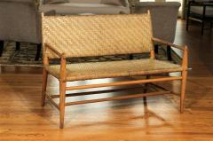 Perfect Old Hickory Furniture Co Exceptionally Rare Complete Three Piece Modern  Seating Set By Old Hickory