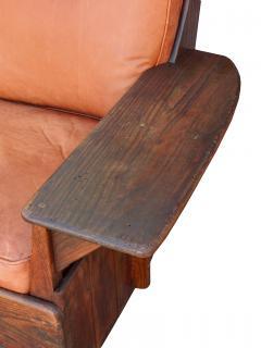 Old Hickory Furniture Co Hickory 1930 s Paddle Arm Sofa w - 1031552