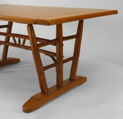 Old Hickory Furniture Co Rustic Old Hickory Dining Table - 643792