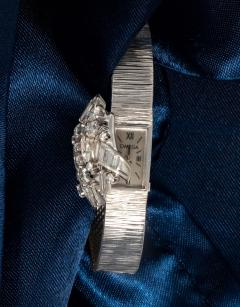 Omega Double Marquis Omega Diamond Set Flower Concealed Wristwatch - 1437797
