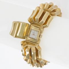 Omega Omega Mid 20th Century Diamond and Gold Watch Bracelet - 684508