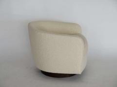 Orange Furniture PAIR OF MILO BAUGHMAN STYLE SWIVEL CHAIRS - 1412992