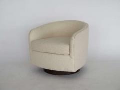 Orange Furniture PAIR OF MILO BAUGHMAN STYLE SWIVEL CHAIRS - 1412994