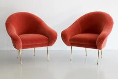 Orange Furniture PAIR OF SALON SLIPPER CHAIRS BY ORANGE FURNITURE - 1104535