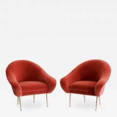 Orange Furniture PAIR OF SALON SLIPPER CHAIRS BY ORANGE FURNITURE - 1104946