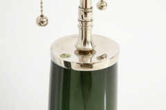 Orrefors Forest Green Glass Lamps by Orrefors  - 1021575