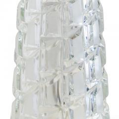 Orrefors Pair of Cut Crystal Table Lamps attrib Orrefors - 1700274