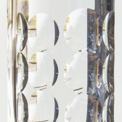 Orrefors Pair of Elegant and Tall Cut Crystal Lamps by Ole Alberius - 1632990