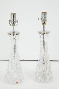 Orrefors Pair of Orrefors Crystal Lamps - 779728