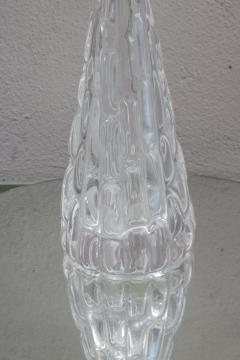Orrefors Pair of Orrefors Large Crystal Table Lamps - 1510554