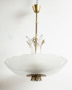 Orrefors Pair of Swedish Orrefors Chandeliers circa 1940s - 753527