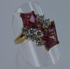 Oscar Heyman Brothers OSCAR HEYMAN Pink Tourmaline and Diamond Ring - 45923
