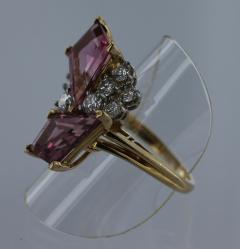 Oscar Heyman Brothers OSCAR HEYMAN Pink Tourmaline and Diamond Ring - 45924