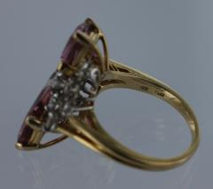 Oscar Heyman Brothers OSCAR HEYMAN Pink Tourmaline and Diamond Ring - 45925