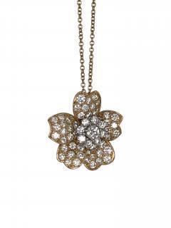 Oscar Heyman Brothers Oscar Heyman diamond pendant - 1179028