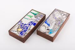 Ottaviani Silver and Enamel Box - 622054
