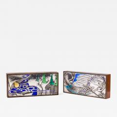 Ottaviani Silver and Enamel Box - 641802