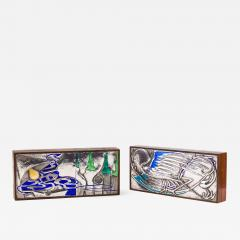 Ottaviani Silver and Enamel Box - 641798