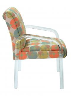 Pace Collection 4 Lucite Dining Game Chairs By Leon Rosen For Pace Collection - 155917