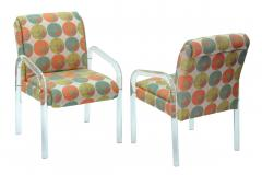Pace Collection 4 Lucite Dining Game Chairs By Leon Rosen For Pace Collection - 155920