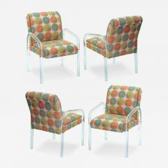 Pace Collection 4 Lucite Dining Game Chairs By Leon Rosen For Pace Collection - 156917