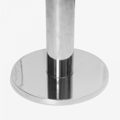 Pace Collection Chrome Accent Table in the Style of Leon Rosen for Pace - 1899094